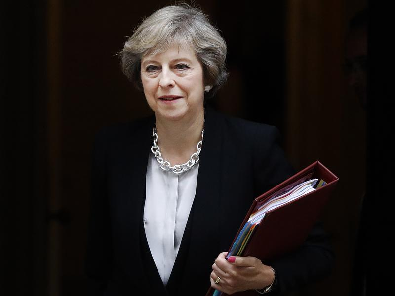 It's unusual for Britain's Prime Minister to criticize a U.S. Secretary of State — but it seems that Theresa May is attempting to distance herself from the Obama administration ahead of the change in government.