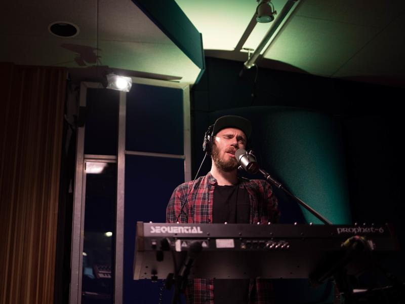 James Vincent McMorrow, performing live for KCRW.
