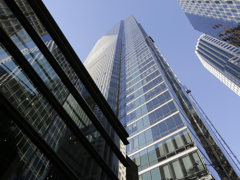 """The Millennium Tower has gained notoriety as """"The Leaning Tower of San Francisco."""" Residents of the luxury condominium building and the city are suing the developer."""