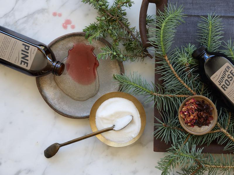 Colorado-based Dram Apothecary makes an evergreen syrup from local trees that can be used for both alcoholic and nonalcoholic beverages.