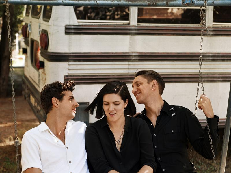"The xx producer Jamie Smith (left) met bandmates Romy Madley Croft and Oliver Sim when all three were 11 years old. ""I was quite happy just to stay us,"" Smith says. ""I think just keeping your closest friends around is the best."""