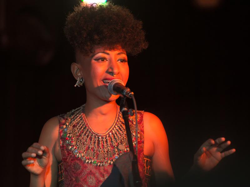 Sudanese-American singer Alsarah brought her band, The Nubatones, to globalFEST this past Sunday in New York City.