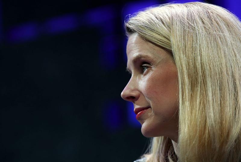 Yahoo President and CEO Marissa Mayer in November 2015. (Justin Sullivan/Getty Images)