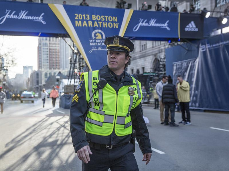 Mark Wahlberg in Peter Berg's <em>Patriots Day</em>.