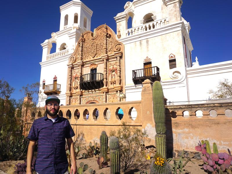 For Gabriel Otero, the Catholic Mission San Xavier del Bac in Tucson, Ariz., is a sacred place. Indigenous people, Latinos and people of European ancestry all worship there.