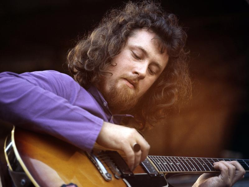 Folk guitarist John Renbourn is one of the artists you'll hear in <em>World Cafe</em>'s British folk-rock playlist.