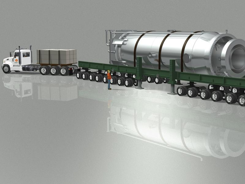 NuScale power wants to build modular nuclear reactors small enough to fit on the back of a truck.