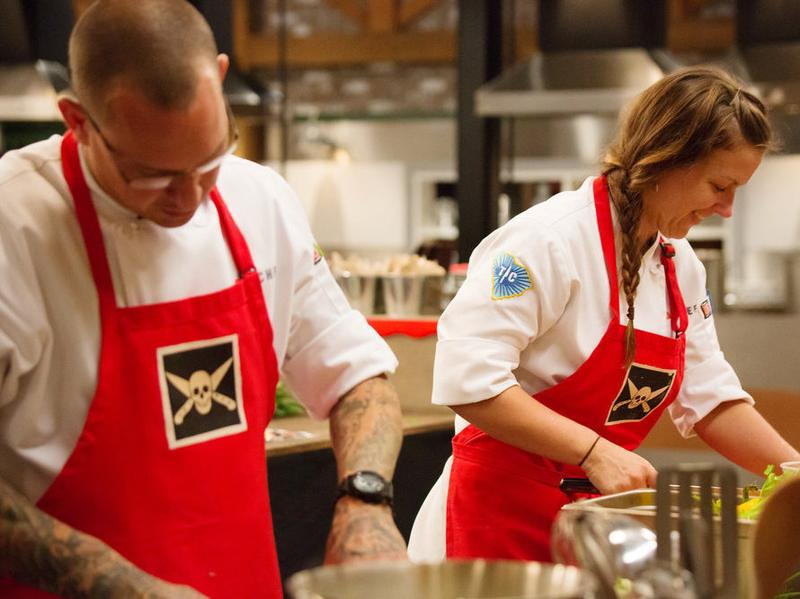 Jamie Lynch and Emily Hahn both figured in a surprising ending to Thursday night's <em>Top Chef</em>.