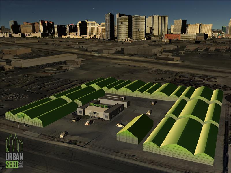 Urban Seed plans to grow 25 different crops, from bell peppers to beets to alpine strawberries, in high-tech greenhouses smack in the middle of Las Vegas.