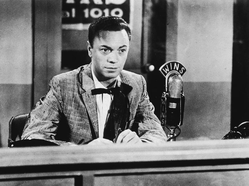 """Radio DJ Alan Freed in the 1950s. Freed's pioneering career as a champion of rock and roll was marred by the revelation that he'd accepted """"payola"""" — money from labels to play certain records."""