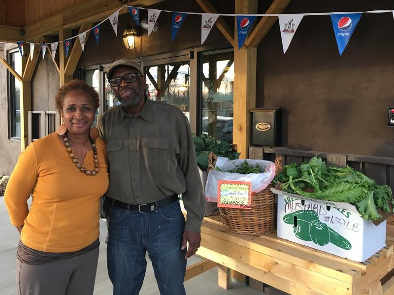 Community organizers Jerry Anderson and his wife Paula McCoy Anderson opened The Village, a food market and community gathering place in Winston-Salem, N.C.