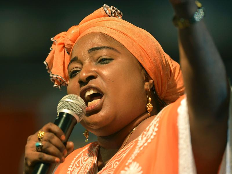 Kenyan parliamentarian Mishi Mboko, shown here on Jan. 11, is asking female voters to withhold sex with their partners until they register to vote.