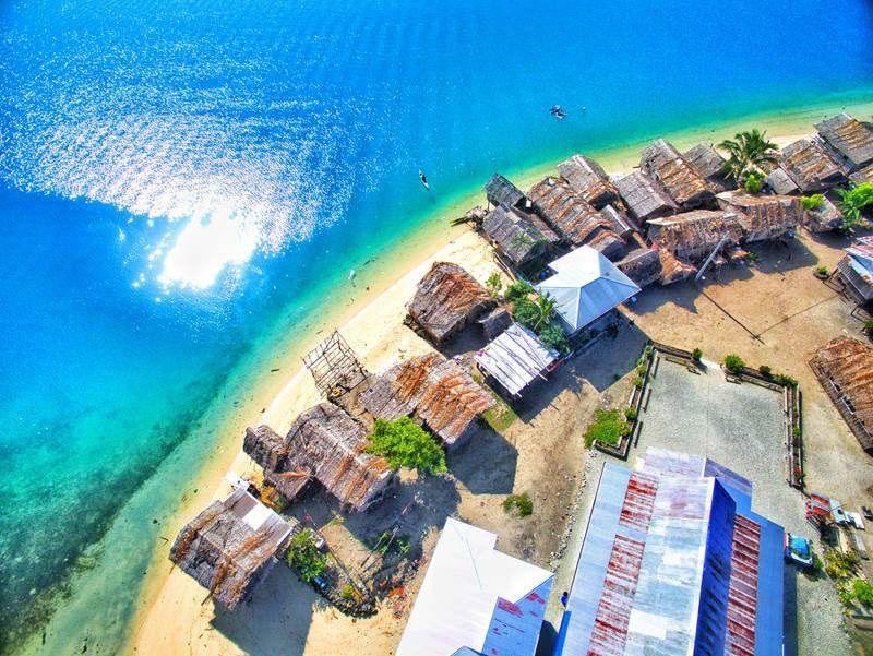 Drone hobbyist Zorik Olangi shot this image of his home island, Malaita, part of the Solomon Islands.