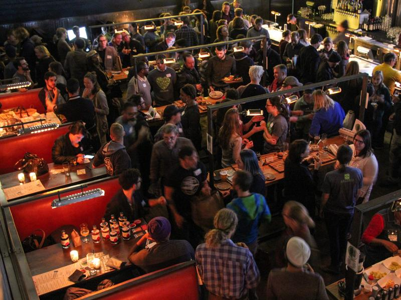 Farmers and chefs looking for their perfect match at Bluejacket, a restaurant and brewery in Washington, D.C.