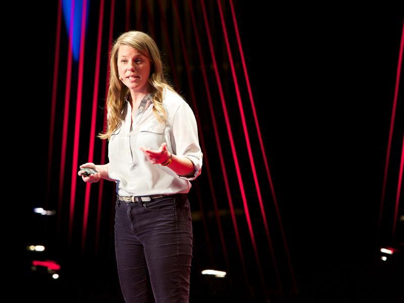 Dr. Nicole Garneau talks about taste on the TED Stage.