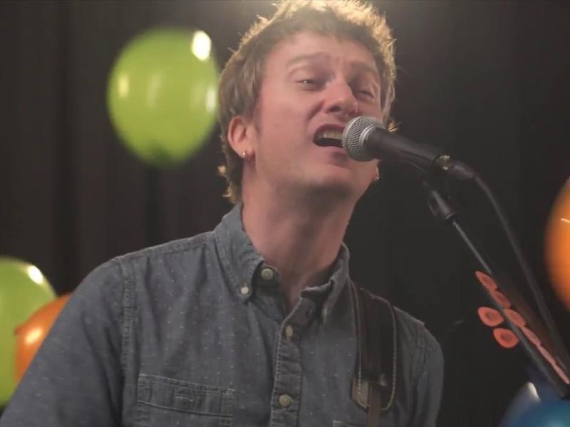 A still from Split Single's video.