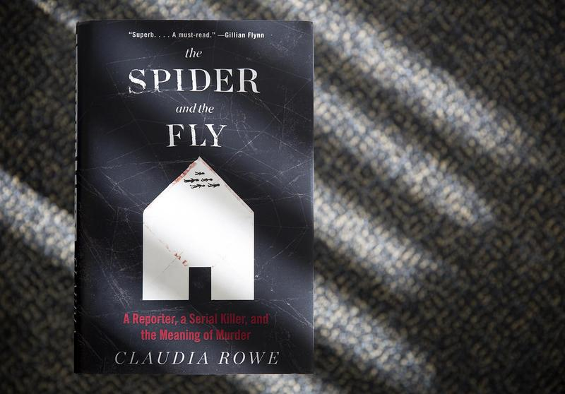 """""""The Spider and the Fly,"""" by Claudia Rowe. (Robin Lubbock/WBUR)"""