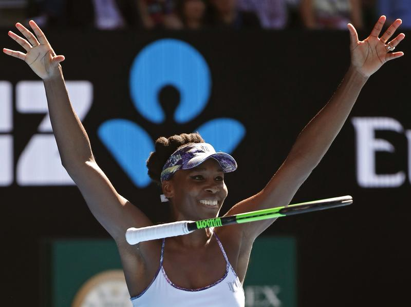 Venus Williams, 36, will face off against her sister Serena, 35, in Saturday's Australian Open final. Williams beat fellow American Coco Vandeweghe Thursday to reach the finals.