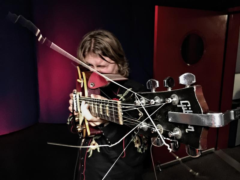 "Ty Segall performs ""Break A Guitar"" live at KCRW."