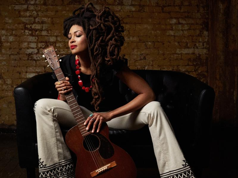 """Valerie June's new song """"Shakedown"""" is KXT's pick for this month's Heavy Rotation."""