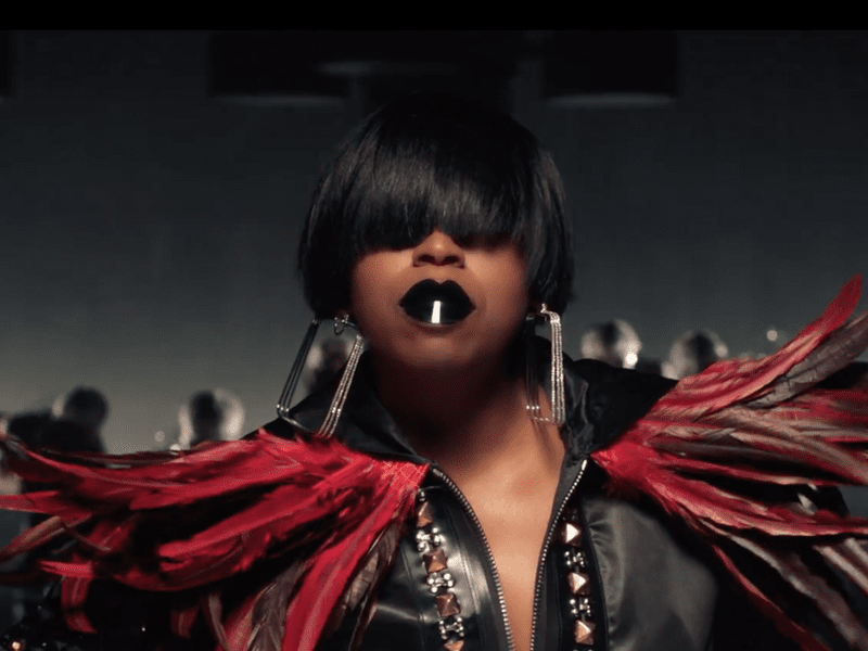 "Missy Elliott in a scene from her new video for the song ""I'm Better (Feat. Lamb)."""