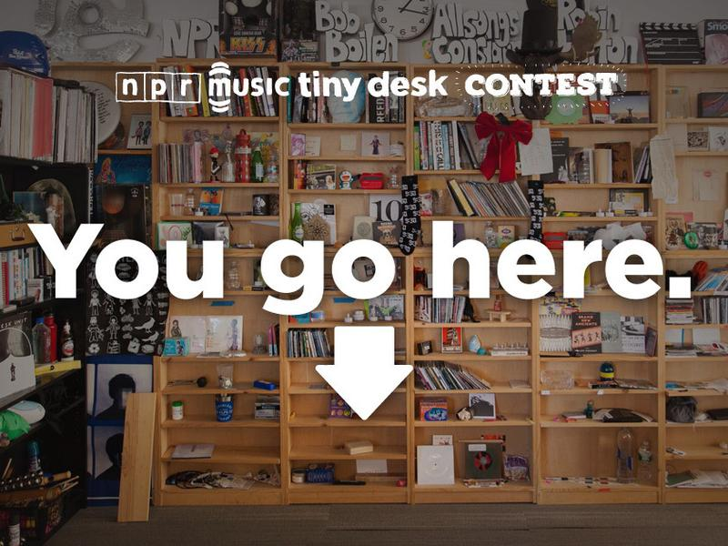 Could it be you playing a Tiny Desk concert for NPR Music? There's only one way to find out.