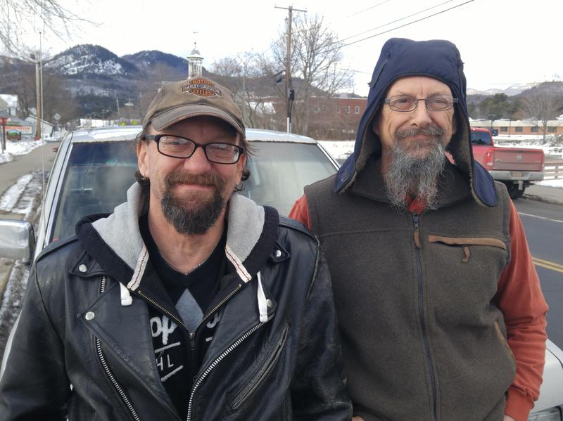 Brothers Tim (left) and Bill (right) Jackson have been watching the initial moves of the Trump administration with different views.