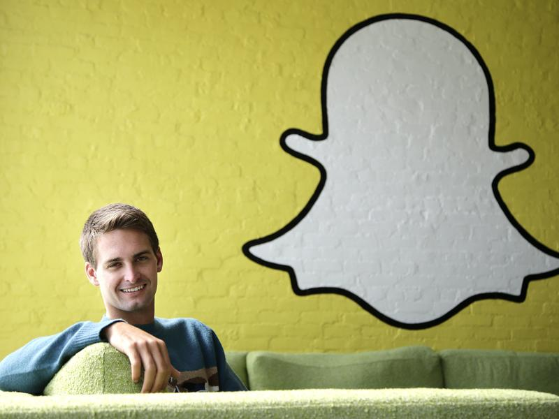 Snap co-founder and CEO Evan Spiegel is taking the parent company of the Snapchat app public.