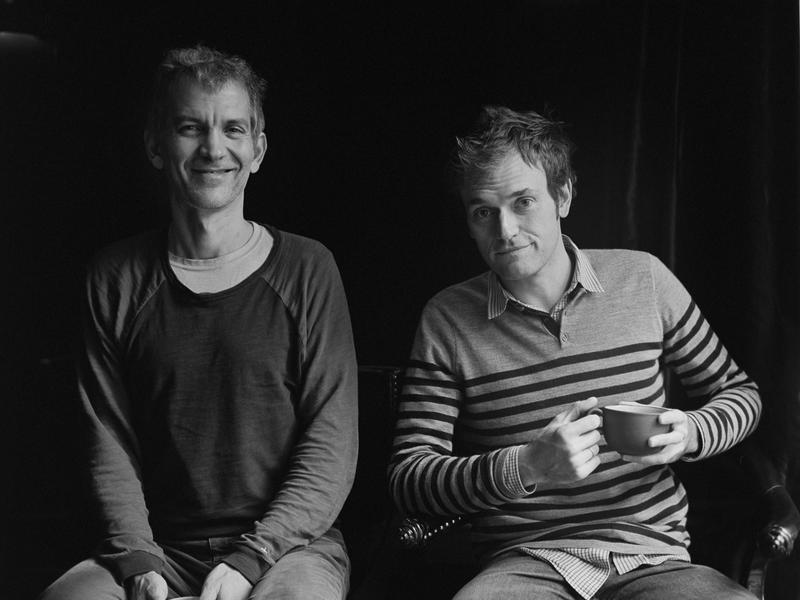Brad Mehldau (left) and Chris Thile (right) have released a new self-titled duo album.