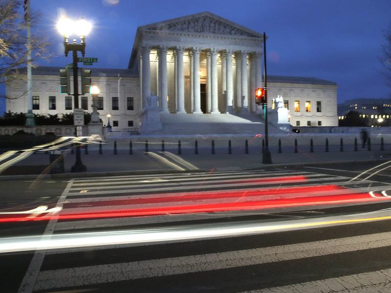 To be confirmed to the Supreme Court, President Trump's nominee has to pass a vote in the Senate Judiciary Committee and in the full Senate.