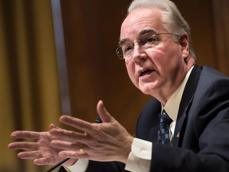 Rep. Tom Price, President Trump's nominee for Secretary of Health and Human Services, has criticized a task force of medical experts whose recommendations guide health screening and disease prevention.