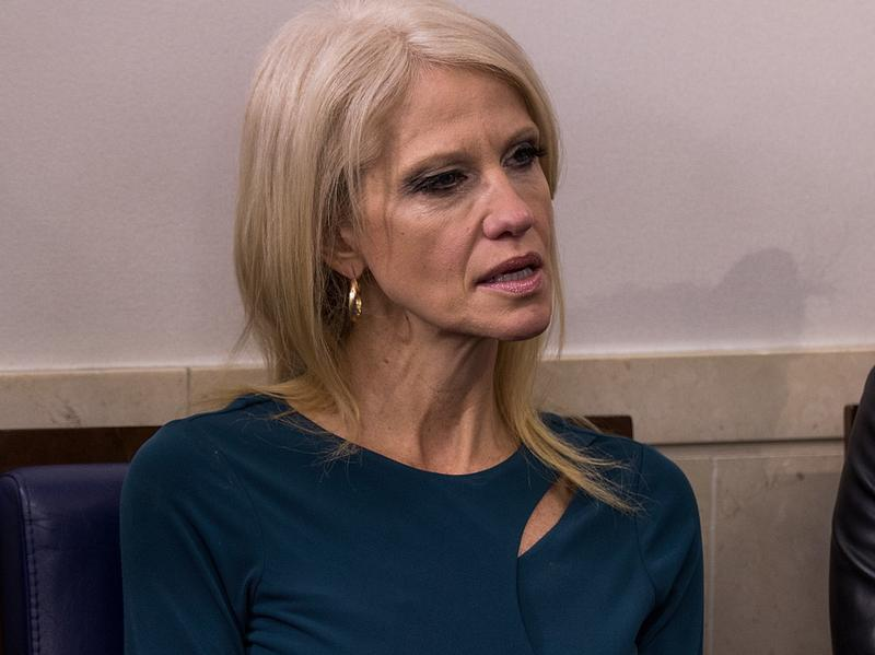 Kellyanne Conway, a member of President Trump's senior White House team, is being ridiculed for making a false claim about Iraqi refugees.