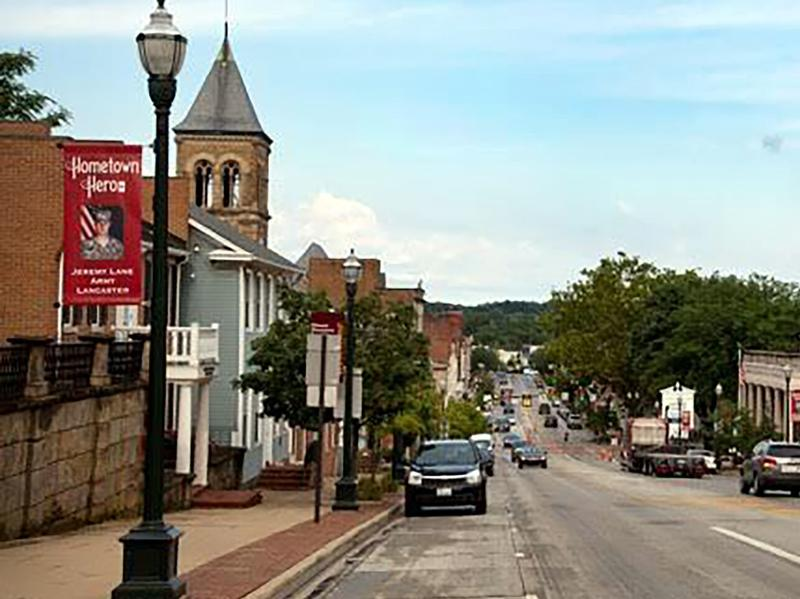 Once a thriving factory town, Lancaster, Ohio is now beset by underemployment and drug abuse.