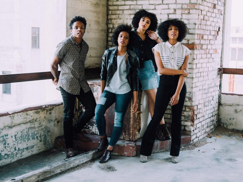 """""""We want to be in a space that invites anyone who wants to come to be there,"""" The New Respects bassist Alexis Fitzgerald says."""