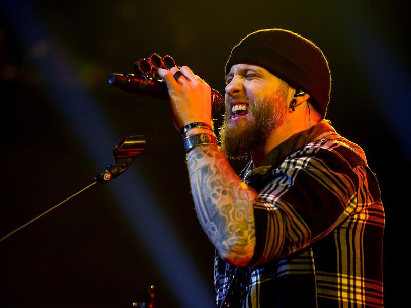 He hasn't traded in his truck. Brantley Gilbert performs at the release party for his latest album album, <em>The Devil Don't Sleep</em>.