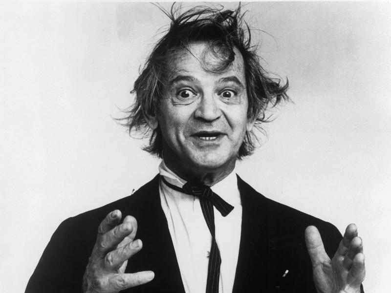 """Comedian Irwin Corey was known for his long-running act as """"The World's Foremost Authority."""" He is pictured here in the 1970s. Corey died at the age of 102."""