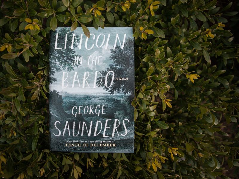 George Saunders' first novel,<em> Lincoln in the Bardo.</em>