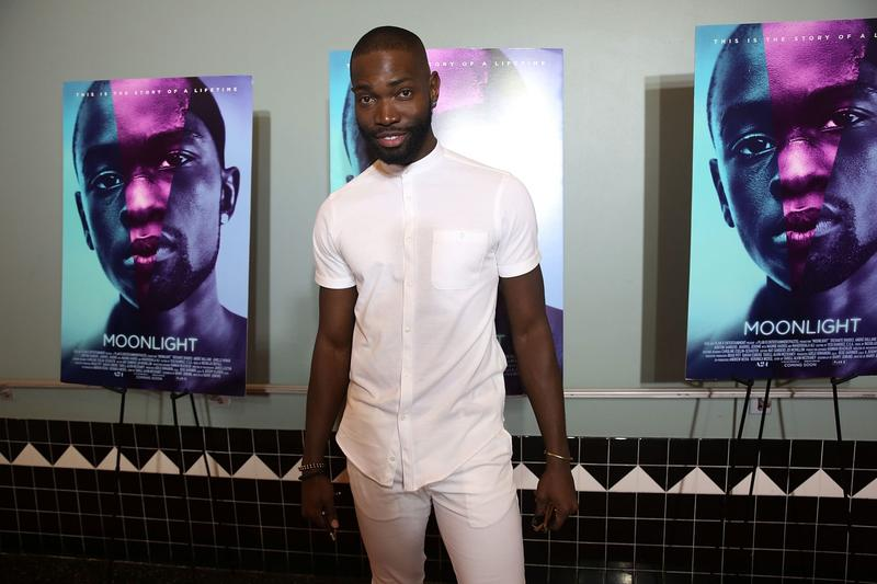"""Tarell Alvin McCraney at a """"Moonlight"""" premiere in October 2016 in Miami Beach, Fla. (Aaron Davidson/Getty Images for A24)"""