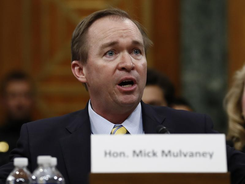 Rep. Mick Mulvaney, R-S.C., faced sharp questions during his confirmation hearings on Capitol Hill last month.