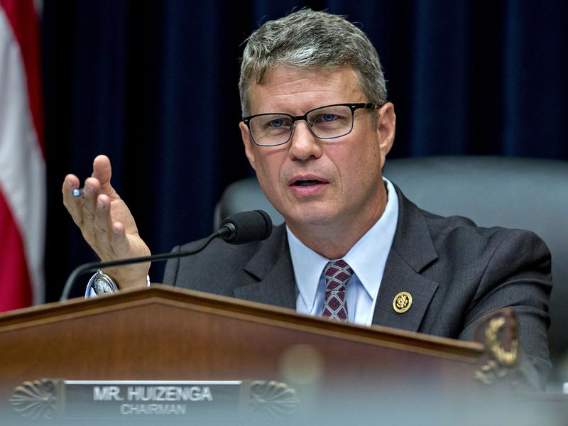 """Rep. William """"Bill"""" Huizenga, R-Mich., says House Republicans """"know the direction we want to go and sort of the destination"""" with replacing Obamacare."""