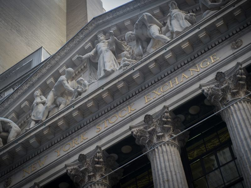 The exterior of the New York Stock Exchange on Feb. 10. A lobbying battle is being waged over a rule requiring financial advisers to act in their clients' best interest in retirement planning.
