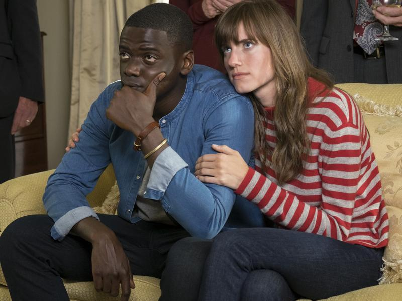 Guess Who's Coming To Dinner And Never Leaving: Chris (Daniel Kaluuya) and Rose (Allison Williams) in <em>Get Out</em>.