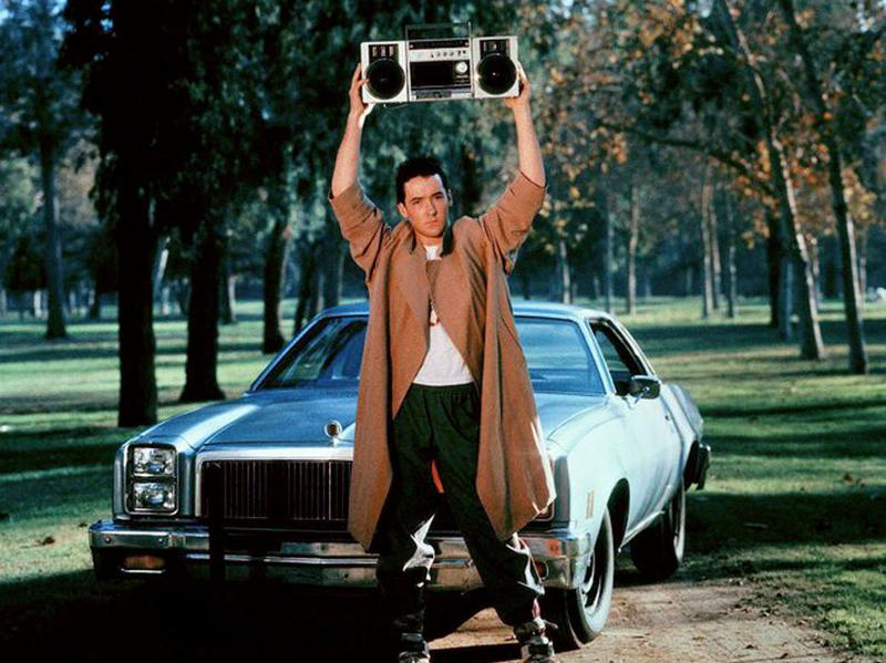 Say what you will about Jon Cusack in <em>Say Anything...</em>, but the man knew how to incorporate music into his romantic gesture.