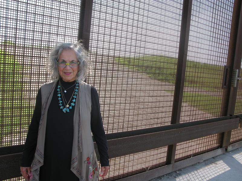 """Eloisa Tamez received $56,000 from the federal government for a quarter-acre of her ancestral land, but she says, """"I wasn't looking for the money. I don't want to lose the land."""