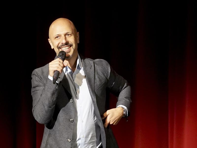 Comedian Maz Jobrani talks with us about President Trump, immigration, and finding humor in moments of political polarization.