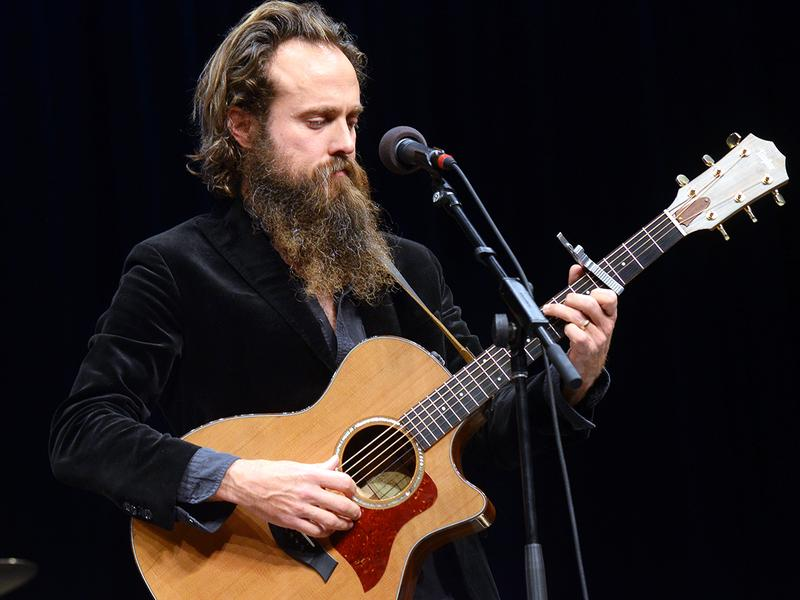Iron & Wine performs live for <em>Mountain Stage</em> in West Virginia.