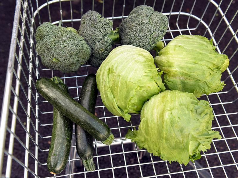 Vegetables were rationed at supermarkets in the U.K. due to poor weather conditions in Europe. Here, lettuce, broccoli and zucchini were rationed at a Tesco store in London.