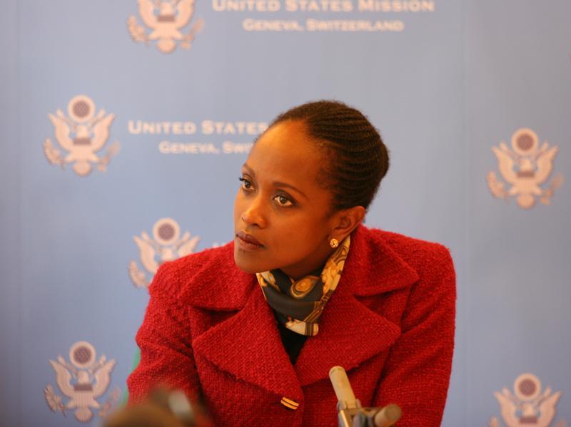 Dr. Esther Brimmer, former Assistant Secretary of State for International Organizations.