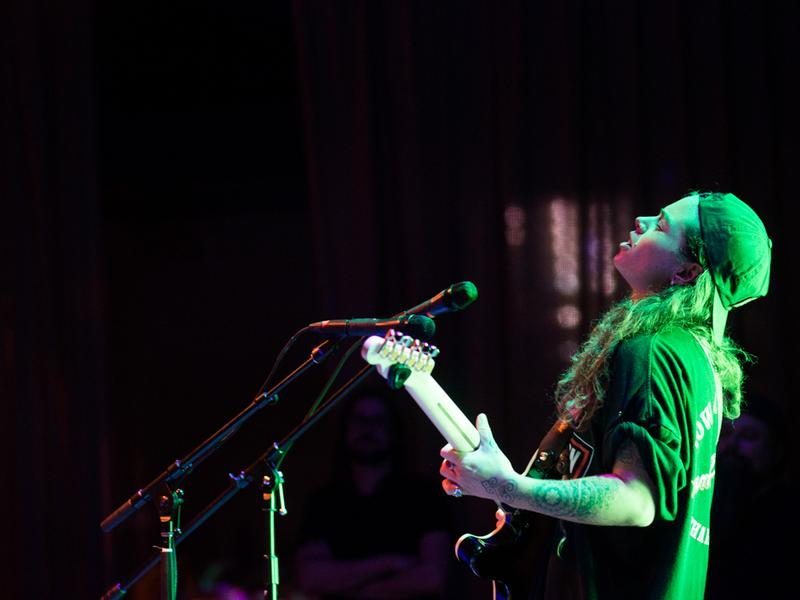 Tash Sultana performs at World Cafe Live in Philadelphia.