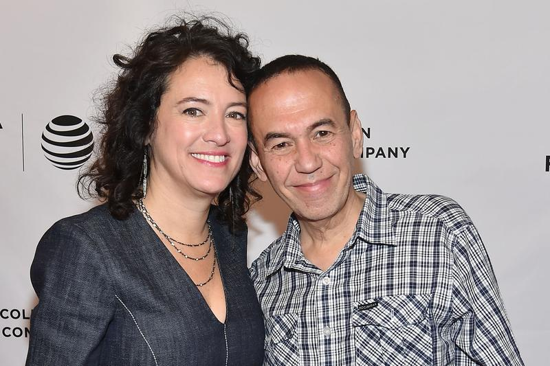"""Director Ferne Pearlstein and Gilbert Gottfried attend the """"The Last Laugh"""" premiere during the 2016 Tribeca Film Festival in April 2016 in New York. (Ben Gabbe/Getty Images for Tribeca Film Festival)"""